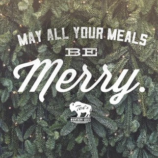 May All Your Meals Be Merry!